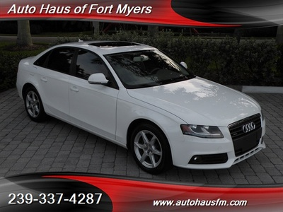 2009 Audi A4 2.0T quattro Ft Myers FL Sedan
