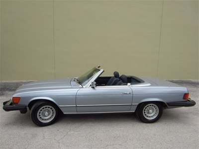 1983 Mercedes-Benz 380SL Convertible