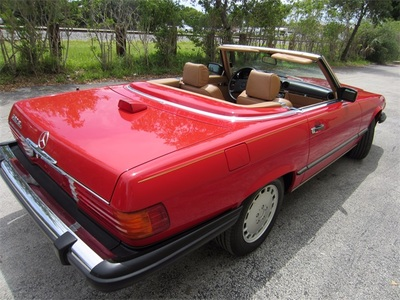 1986 Mercedes-Benz 560SL Convertible