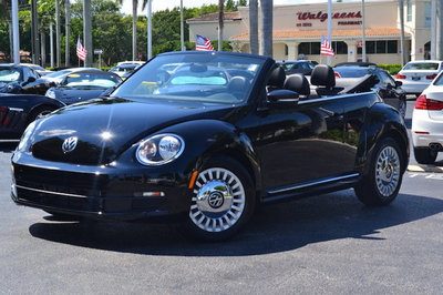 2015 Volkswagen Beetle Convertible 2dr Automatic 1.8T