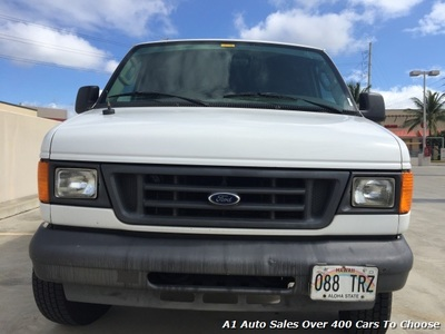 2005 Ford E-Series Cargo Cabinets Shelves Van
