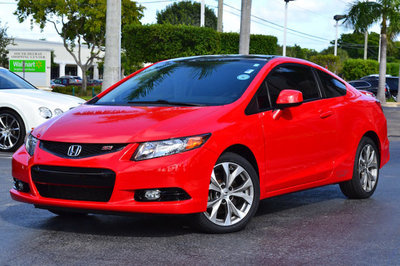 2012 Honda Civic Coupe 2dr Manual Si w/Navi