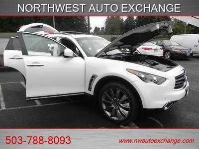 2013 INFINITI FX37 Limited Edition With Sport PK. SUV