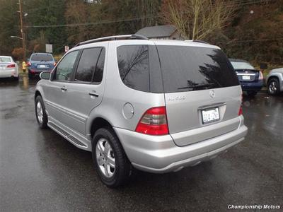 2005 Mercedes-Benz ML500 SUV