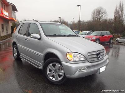 2005 Mercedes Benz Ml500 Suv
