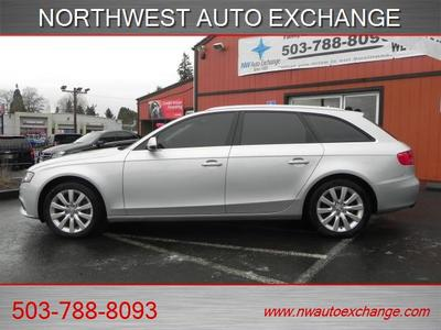2012 Audi A4 2.0T quattro Avant Premium LOADED Wagon