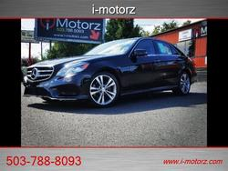 2014 Mercedes-Benz E-Class E350 Luxury Premium