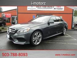 2014 Mercedes-Benz E-Class E350 Luxury