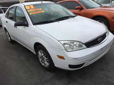 2007 Ford Focus ZX4 S Sedan