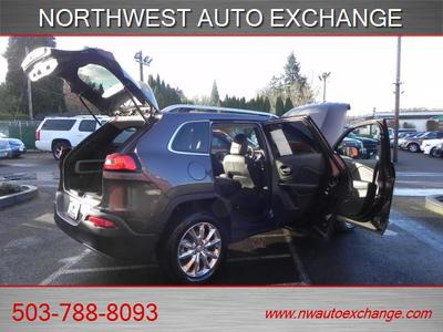 2015 Jeep Cherokee AS NEW-LIMITED 4X4EZ LOW%FINANC SUV