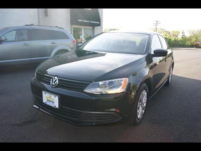 2013 Volkswagen Jetta TRIPLE BLACK ,SILVER CERTIFIED Sedan