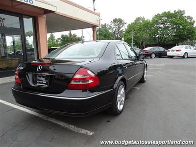 2004 Mercedes-Benz E500 NAVIGATION LOW MILES Sedan