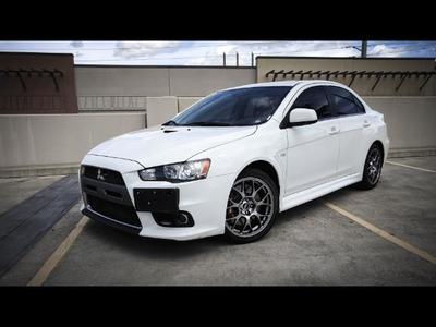 2010 Mitsubishi Lancer Evolution MR Sedan
