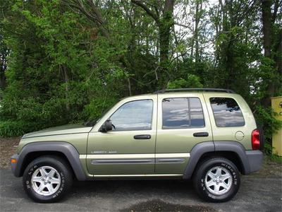 2003 Jeep Liberty Sport SUV