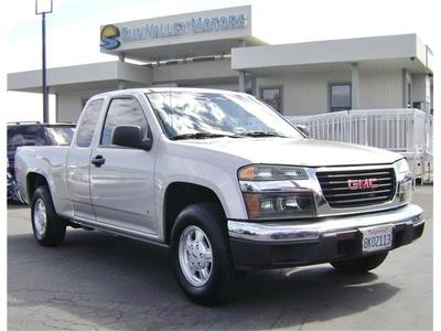 Sacramento Buyers 2007 Gmc Canyon Sle In Sacramento