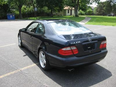2002 Mercedes-Benz CLK CLK430 Coupe