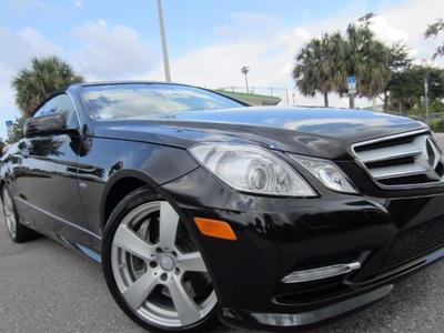 2012 Mercedes-Benz E550 Convertible