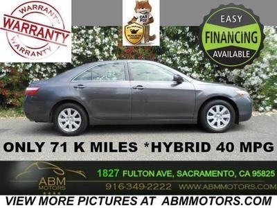 2007 Toyota Camry Hybrid Sedan ...