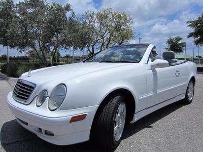 2001 Mercedes Benz Clk320 Convertible