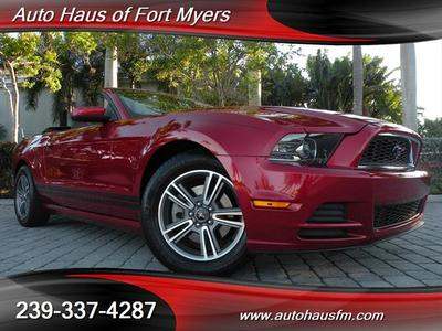 Fort Myers Buyers 2013 Ford Mustang V6 Premium Convertible Ft Myers