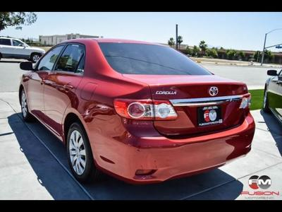 ... 2013 Toyota Corolla L Sedan ...