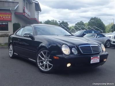 2001 Mercedes-Benz CLK CLK430 Coupe