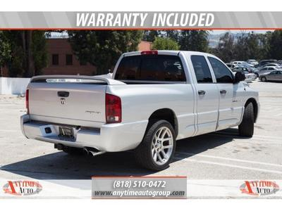 2005 Dodge Ram Pickup 1500 SRT-10 4dr Quad Cab Truck