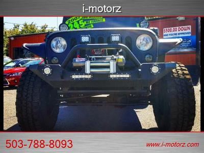 2007 Jeep Wrangler TRICKED OUT RHINO LINER LIFTED  SUV