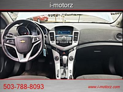 2012 Chevrolet Cruze 4dr eco sport loaded-EZ LOW% FINAN Sedan
