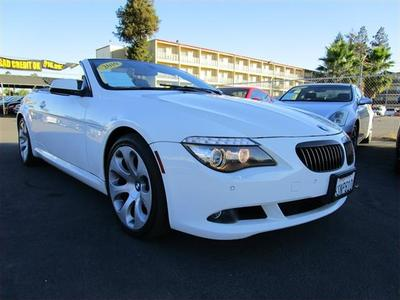 2010 bmw 650i convertible blue