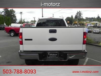 2006 Ford F-150 XLT 4X4  4dr SuperCab Truck
