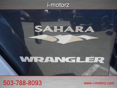 2008 Jeep Wrangler Sahara 4X4 LOADED EZ FINANCING! SUV