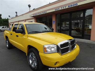 2007 Dodge Dakota SLT 4X4 ONE OWNER 56K MILES Truck