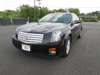 2007 Cadillac CTS TRIPLE BLACK ,SILVER CERTIFIED Sedan