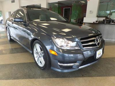2012 Mercedes-Benz C350 4MATIC Coupe