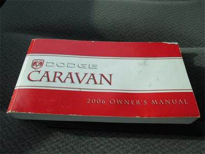 2006 dodge grand caravan sxt manual
