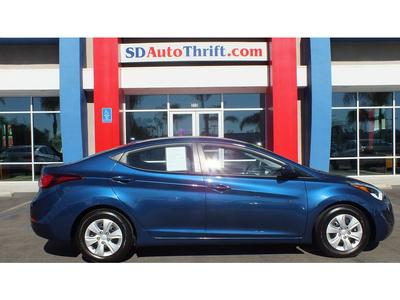 2016 Hyundai Elantra Limited/SE/Value Edition