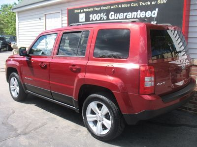 2012 Jeep Patriot LATITUDE 4WD GAS SAVER