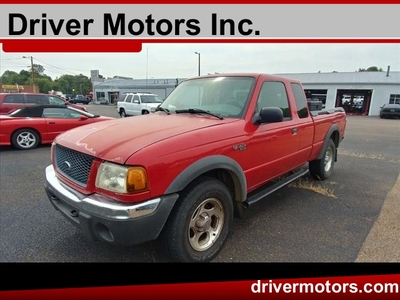 2001 Ford Ranger XLT4WD SuperCab Styleside 6 Ft Box 4.0L