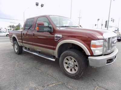 2008 Ford Super Duty F-350 SRW 4WD Crew Cab 6-3/4 Ft Box XL
