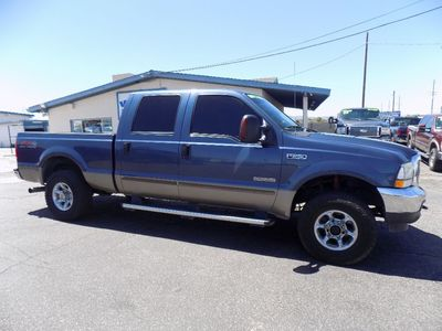 2004 Ford Super Duty F-250 4WD Crew Cab 6-3/4 Ft Box XL