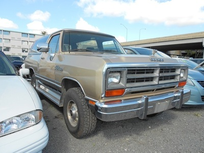 1990 Dodge Ramcharger 150 SUV