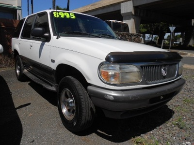 1997 Mercury Mountaineer SUV