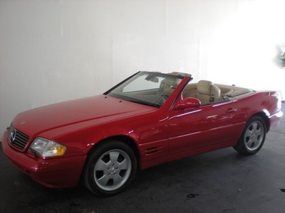 2000 Mercedes-Benz SL500 Convertible
