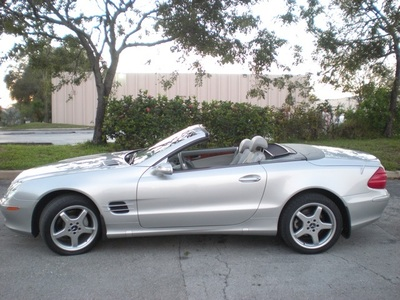 2004 Mercedes-Benz SL500 Convertible