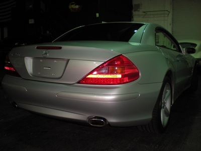 2005 Mercedes-Benz SL500 Convertible