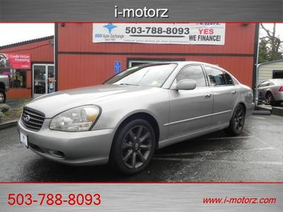 2002 INFINITI Q45 !!!!LEATHER LOADED!!!!**SUN ROOF**!! Sedan