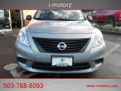 Portland Buyers! 2013 Nissan Versa 4DR EX FUEL ECONOMY-AS NEW-EZ