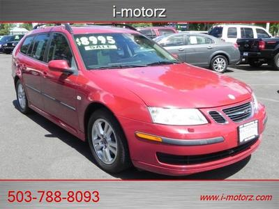 2006 Saab 9-3 !!!LEATHER LOADED!!!**SUN ROOF**LOW  Wagon