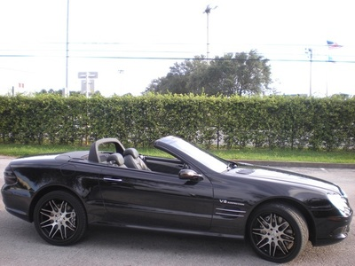 2006 Mercedes-Benz SL55 AMG Convertible